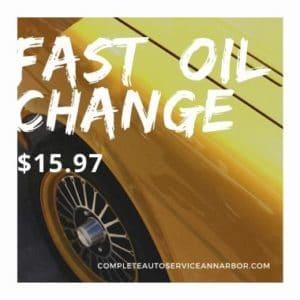 oil change ann arbor
