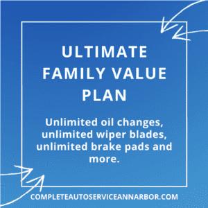 ultimate family value plan auto repair deals ann arbor